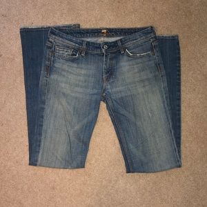 7 for all mankind FLYNT blue jeans